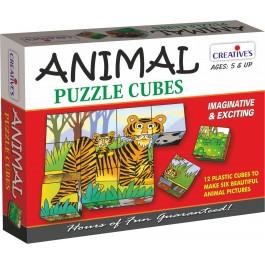 Animals Puzzle Cubes