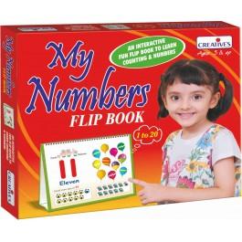 My Number Flip Book