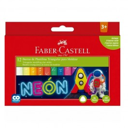 Neon Plasticine (Faber-Castell)